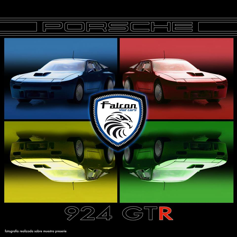 Porsche 924 GTR Falcon Slot Cars