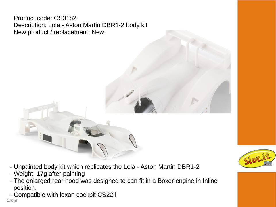 Kit carrosserie cs31b2 dbr1- 2