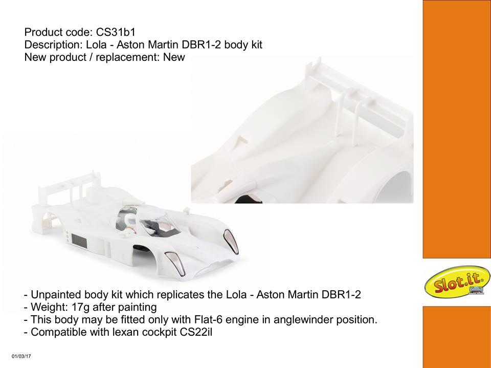 Kit carrosserie cs31b1 dbr1- 2