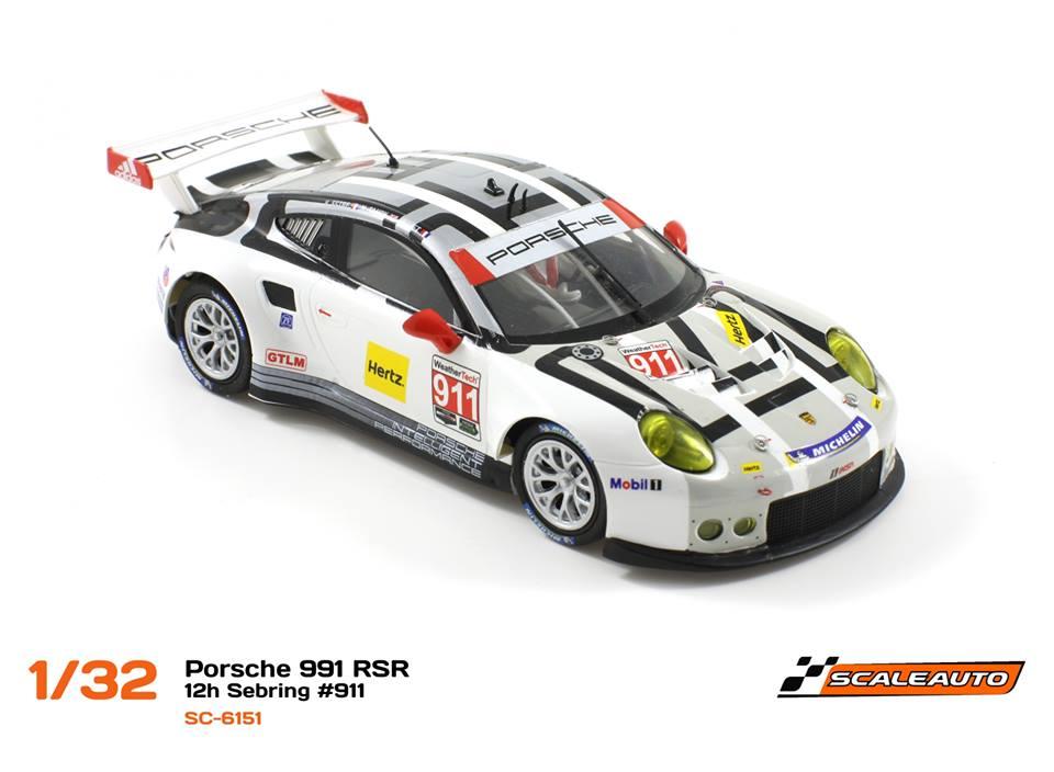 Porsche 991 avec le numéro #911 (Réf. SC-6151 et SC-6151 r)