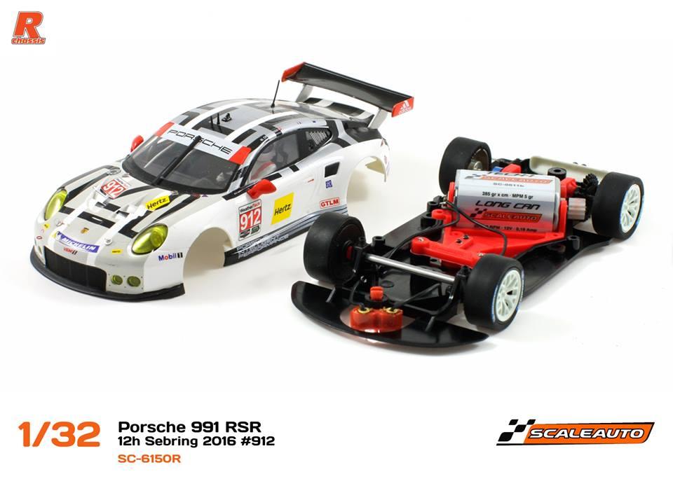 Porsche 991 avec le numéro #911 (Réf. SC-6150 et SC-6150 r)