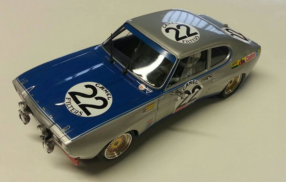 SRC/OSC: LaLa Ford CAPRI RS2600 24h de Spa 1971