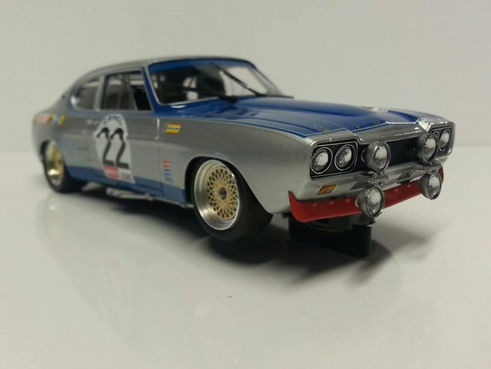 SRC/OSC: LaLa Ford CAPRI RS2600 24h de Spa 1971