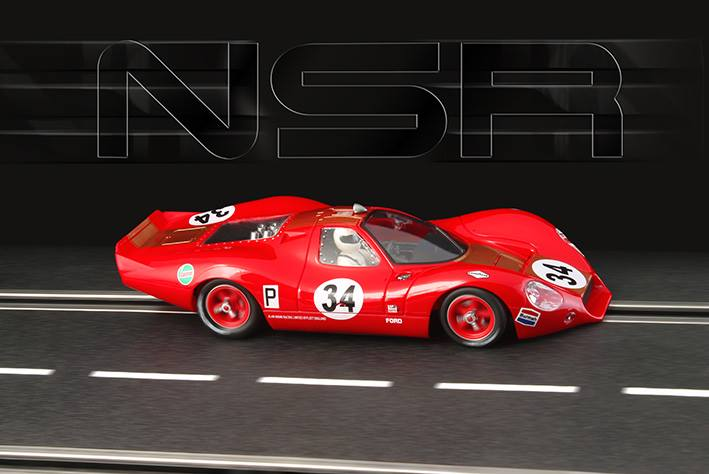NSR Slot: la Ford P68 nsr #34 Brands Hatch en 1968 - 0034 SW