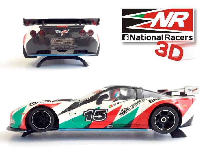 National Racers 3D: des supports en impression 3D pour slot cars