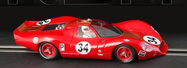 NSR Slot: la Ford P68 nsr #34 Brands Hatch en 1968 - 0034 SW