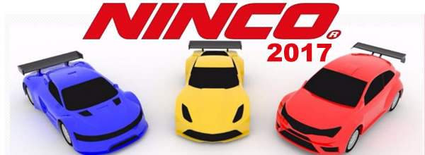 Ninco: Le catalogue 2017 et ses quelques pages slot