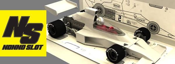 NonnoSlot: La réplique de la McLaren M23 pour le slot est annoncée