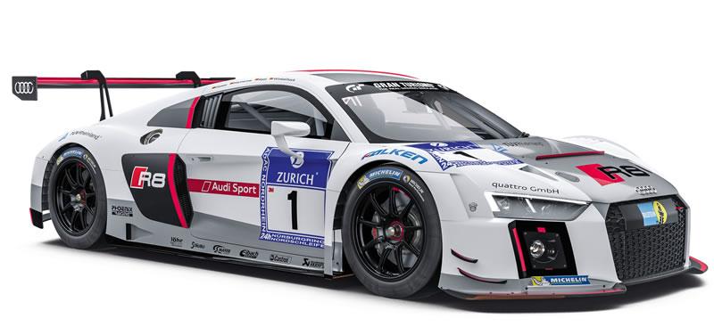 SC-7078 Audi LMS GT3 Audi Sport Team Phoenix Nurburgring 2015