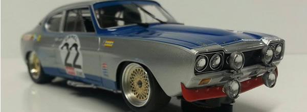 SRC/OSC: La Ford CAPRI RS2600 24h de Spa 1971