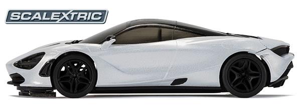 Scalextric: La McLaren 720S roulera sur les circuits routiers electriques