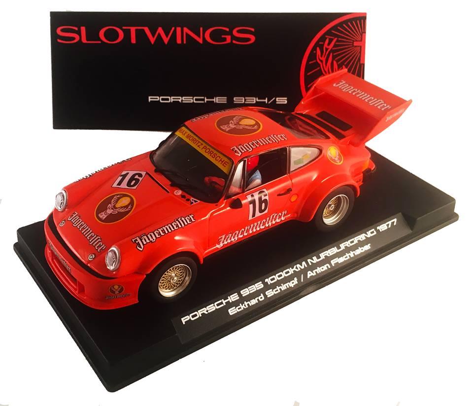 Slotwings: La Porsche 935/76 Gr5 #14 Jägermeister