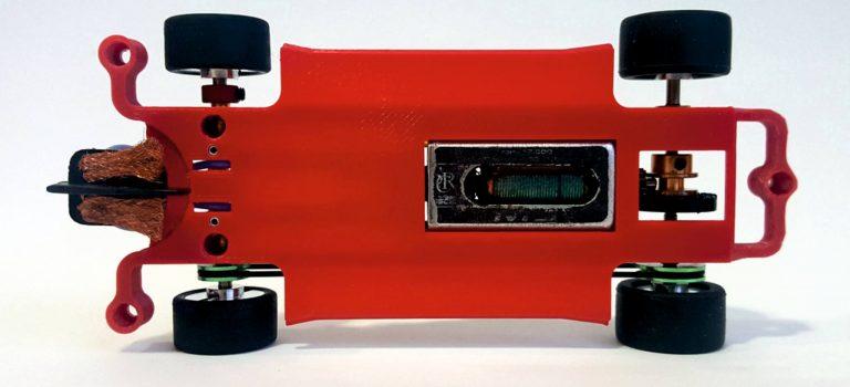 RedSlot: Des châssis en impression 3d pour slot cars