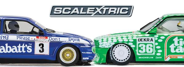 Scalextric: Deux Youngtimers pour les circuits routiers électriques