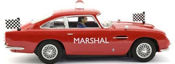 Scalextric: l'Aston Martin DB5 GT Marshall's car pour Uk Slot Festival