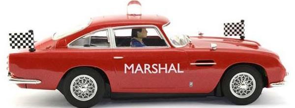 Scalextric: l'Aston Martin DB5 GT Marshall's car pour Uk Slot Festival