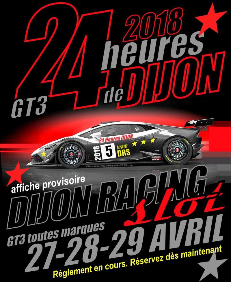 Dijon Racing Slot: Les 24h de Dijon slot racing sont annoncées