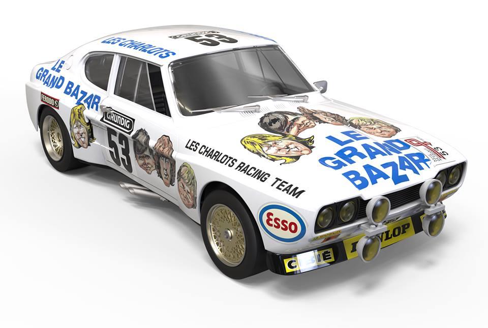 SRC & OSC: La Ford Capri RS2600 - Le Grand Bazar - TDF 1973