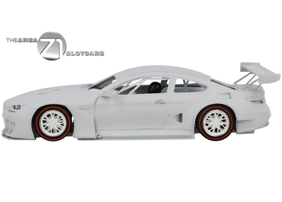 Area71 Slotcar: le kit en impression 3D de la BMW M6 GT3 2016