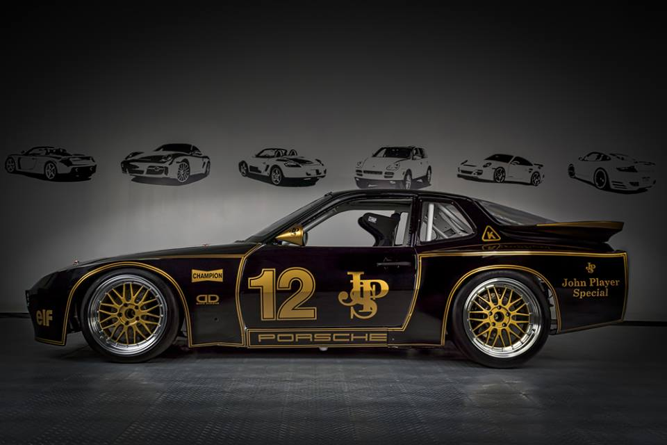 FAlcon Slot Cars: la Porsche 924 GTR - JPS - Motor Racing Werks