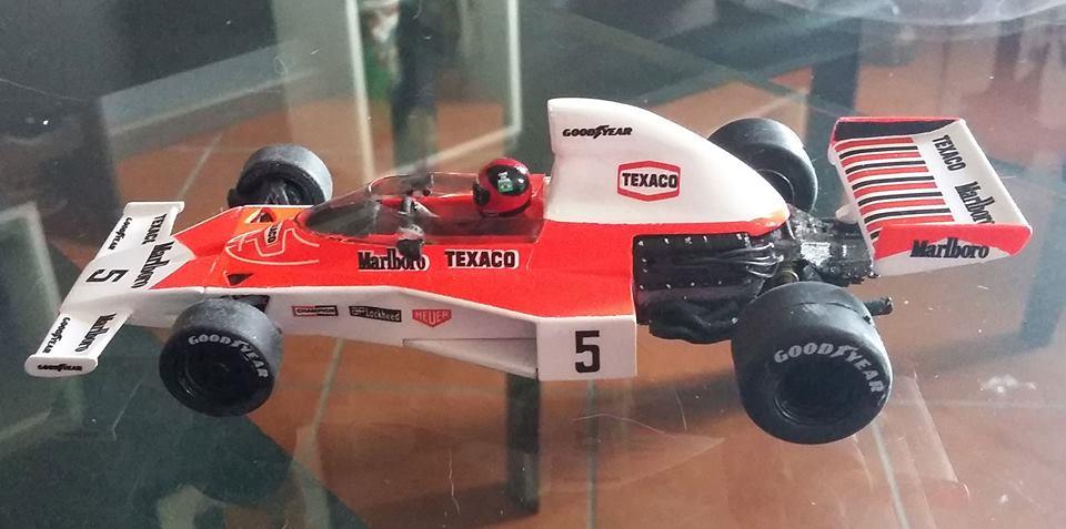 Nonno Slot: la McLaren M23 Fittipaldi 1974 1/32