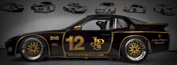 Falcon Slot Cars la Porsche 924 GTR - JPS