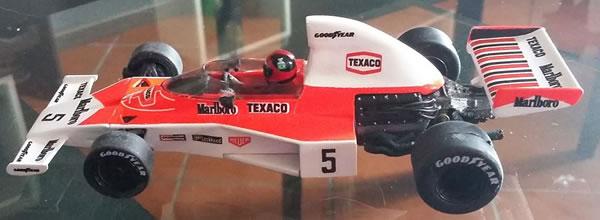 Nonno Slot: la McLaren M23 Fittipaldi 1974