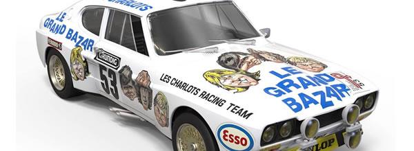 SRC & OSC: La Ford Capri RS2600 – Le Grand Bazar – TDF 1973