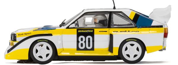 Scalextric: l'Audi Sport Quattro S1 E2 pour la collection 60e anniversaire