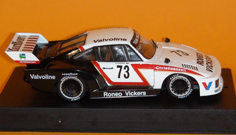 Sideways Porsche Kremer 935 K2 Marlboro Cup 1978 #73