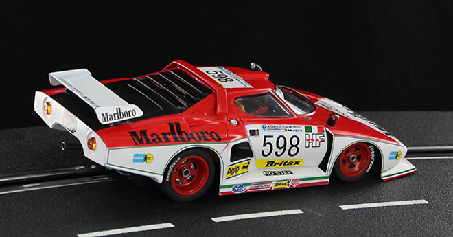 Sideways Lancia Stratos GR.5 Marlboro Tour d'Italie 1976 #598