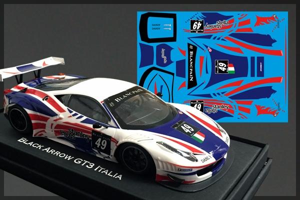 Black Arrow: la GT3 Italia Stanley Blancpain Endurance Series 2012