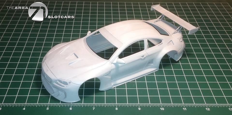 BMW M6 GT3 kit carrosserie échelle 1/24
