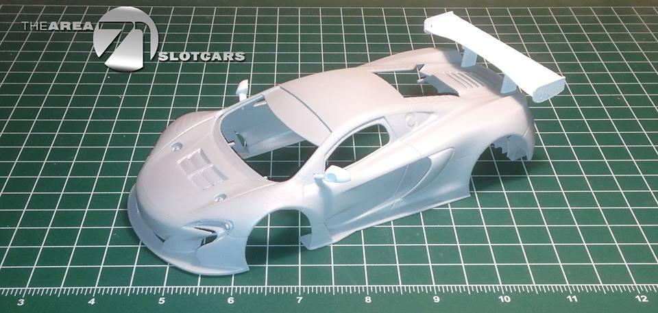 McLaren M650S M650s kit carrosserie échelle 1/24