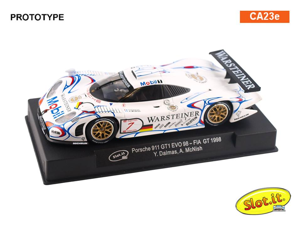 Porsche 911 GT1 EVO 98 - #7 - FIA GT 1998