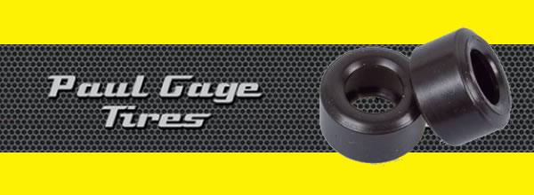 Paul Gage: Des pneus pour tous types de slot cars