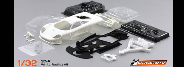 Scaleauto: la BMW V12 LMR et la Saleen S7-R en kit impression 3D