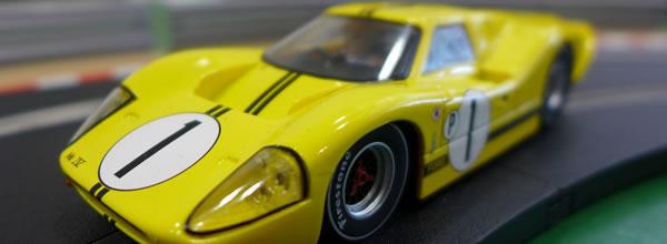 Scalextric: La Ford MKIV 1967 Sebring 12 Hours Winner