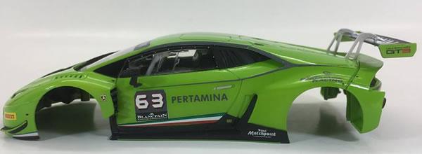 Sideways: Des nouvelles de la Lamborghini Huracan GT3 à l'échelle 1/32