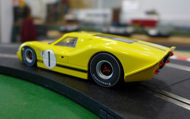 Scalextric: La Ford MKIV 1967 Sebring 12 Hours Winner.