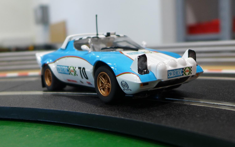 Scalextric: La Lancia Stratos pour la collection 60e anniversaire