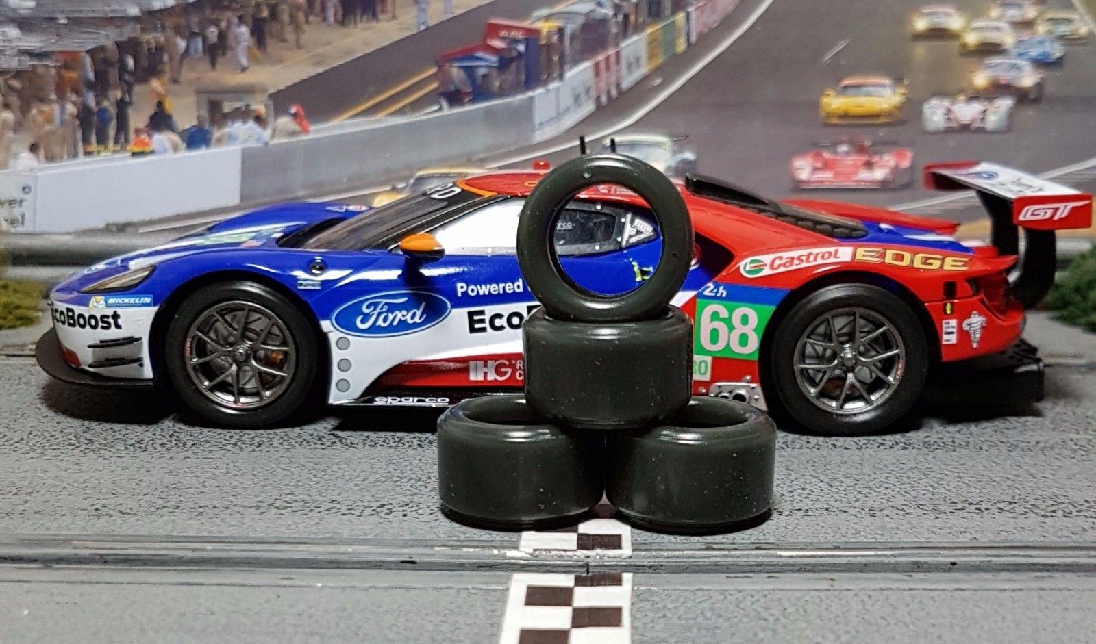 Paul Gage: Des pneus pour tous types de slot car