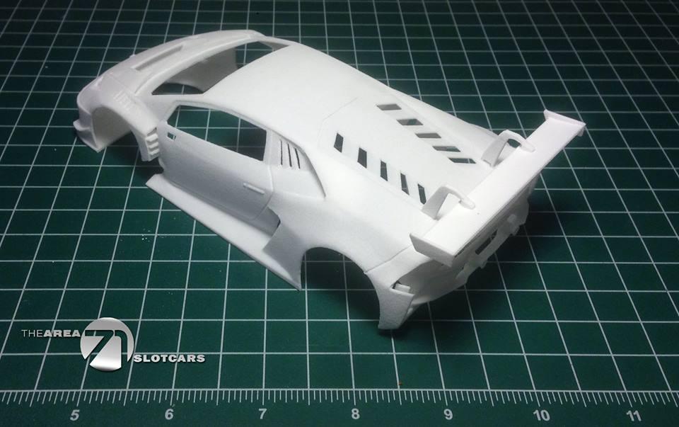 Lamborghini Huracan GT3 kit carrosserie échelle 1/24