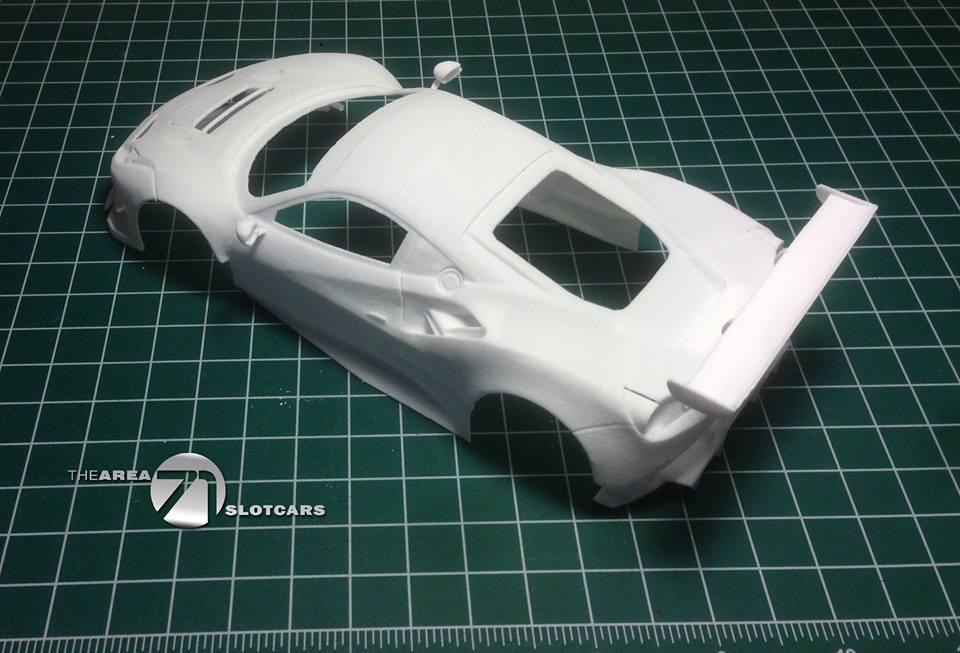 Ferrari 488 kit carrosserie échelle 1/24