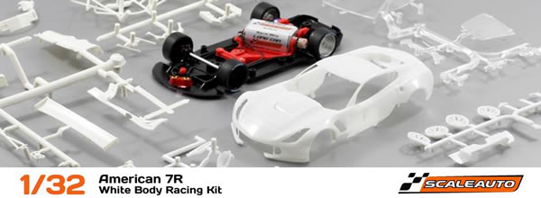 Scaleauto Le kit blanc de la Corvette 7CR GT3