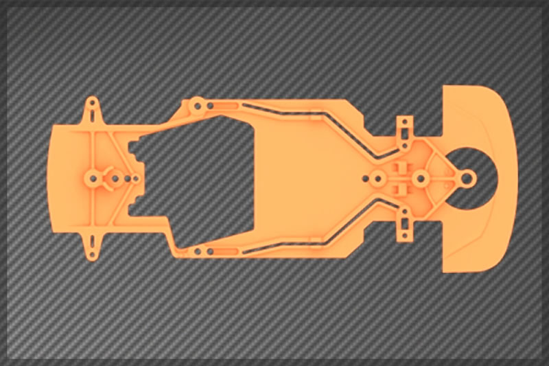 chassis Black Bull BlackArrow-orange