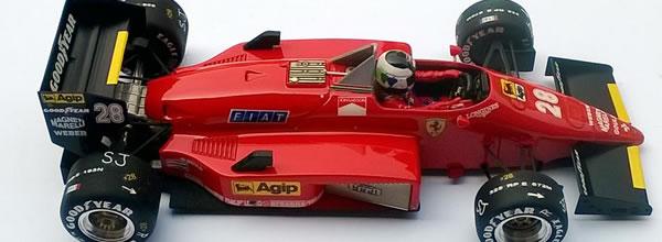 Ostorero: la Ferrari 156-85 de Stefan Johansson - GP Canada 1985