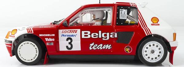 SRC & OSC: Peugeot 205 T16 Evo 1 Belga 1985 – 03602