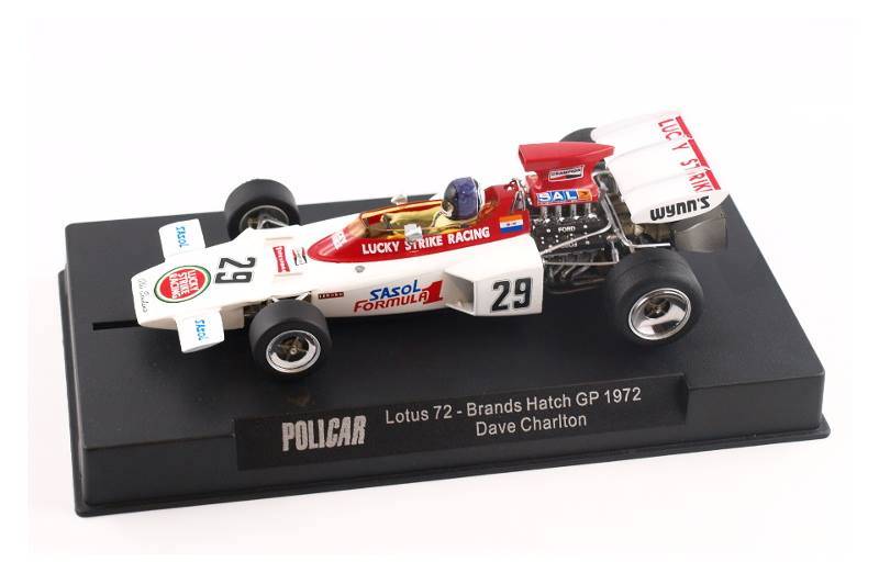 Policar: La Lotus 72 GP d'Angleterre 1972