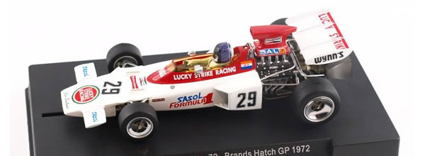 Policar La Lotus 72 GP d'Angleterre 1972